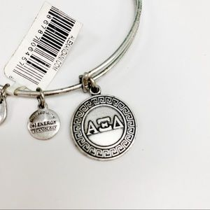 NWT Alex and Ani Greek Alpha Xi Delta Bracelet